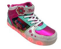 DreamWorks Trolls Big Girls' Lighted High Top Athletic Shoes 2