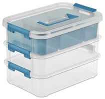 STER STACK & CARRY 3 TRAY ORGANIZER