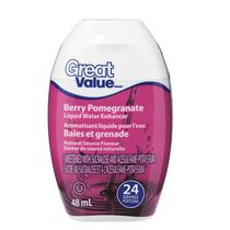 Great Value Berry Pomegranate Liquid Water Enhancer