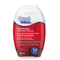 Aromatisant d'eau liquide punch aux fruits Great Value