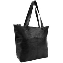 George Women's  Double Pocket Tote Black