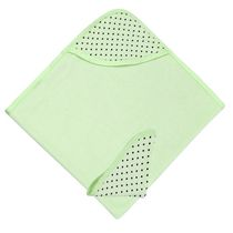 Kushies Hooded Towel Set Deep Mint