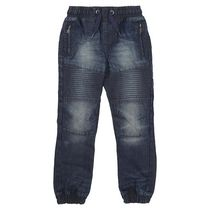 George British Design Boys' Mid Wash Denim Biker Jean 5