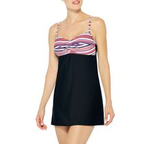 Krista Womens Swimdress Twist 12
