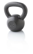Golds Gym, kettlebell 25 lbs