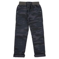George British Design Boys' Navy Camo Rib Waist 8