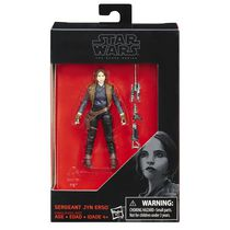 Star Wars La série noire - Figurine de 9 cm Seal Leader Green