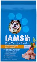 Nutrition canine pour chiens adultes Weight Control ProActive Health d'Iams