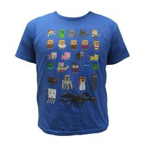 Minecraft Boys License Short Sleeve Tee Shirt M/M