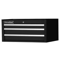 "International 27"" 3 Drawer Intermediate Chest, Tech Series, Black"