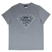 Superman Men's Compresssion Short Sleeve T-Shirt L/G