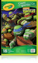Crayola Teenage Mutant Ninja Turtles Giant Colouring Pages