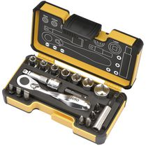 Felo 18 Pieces Imperial Pocket Size Ratchet Tool Set