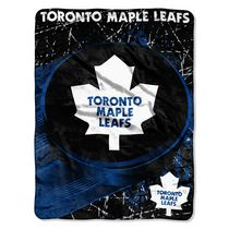 The Northwest NHL Micro Raschel Throw Toronto Maple Leafs