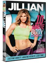 Film Jillian Michaels 10-Minute Body Transformation sur DVD
