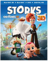 Storks (Blu-ray 3D + Blu-ray + DVD + Digital HD) (Bilingual)