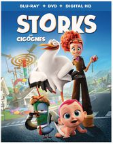 Storks (Blu-ray + DVD + Digital HD) (Bilingual)