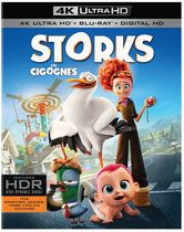 Storks (4K Ultra HD + Blu-ray + Digital HD) (Bilingual)