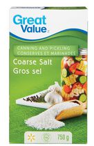 Great Value Coarse Salt