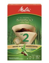 Melitta All Natural Bamboo Coffee Filters - No 2/80 ct