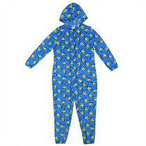Minions Women's Hooded One Piece Long sleeve Pyjama Suit M/M