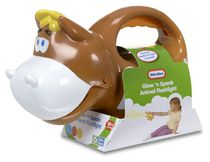 Jouet Lampe de poche animal vache Glow 'n Speak de Little Tikes