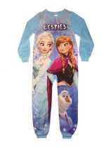 Disney Frozen Girls' Blanket Sleeper Large