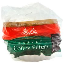 Melitta Basket Coffee Filters - 200 Filters, 10-12 cups