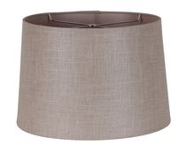 "15"" Iridescent Linen Shade"