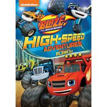 Blaze And The Monster Machines: High-Speed Adventures (Bilingual)