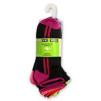 Athletic Works Ladies' Quarter Socks - Pack of 10 Black