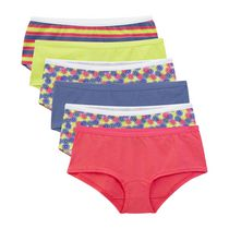 Fruit of the Loom Ladies Cotton Boyshort, 6-Pack 8