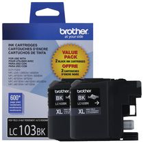 Brother LC 1032PK Black Ink Cartridge