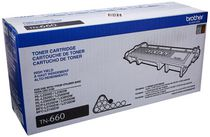 Brother TN 660 Toner Cartridge, Black