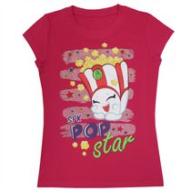 Shopkins Girls' Short Sleeves Crew Neck T-Shirt S 7/8
