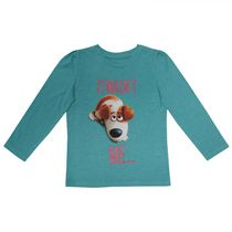 The Secret Life of Pets Girls' Long Sleeves Crew Neck T-Shirt 3T