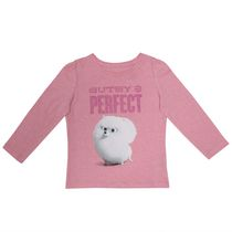The Secret Life of Pets Girls' Long Sleeves Crew Neck T-Shirt 4T