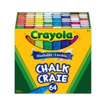 Crayola Washable Sidewalk Chalk, 64 ct