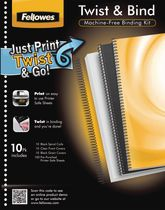 Fellowes® Twist and Bind Kit, 3pk