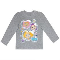 Bubble Guppies Girls' Long Sleeves Crew Neck T-Shirt 3T