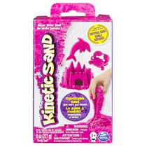 Kinetic Sand Pink 8 oz Squeezable Sand