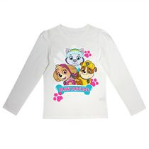 Paw Patrol Girls' Long Sleeves Crew Neck T-Shirt 6