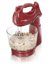 Hamilton Beach 6 Speed Orbital Stand Mixer Red