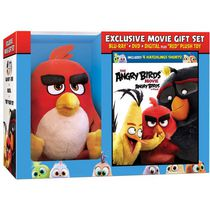 The Angry Birds Movie (2016) (Blu-ray + DVD + Digital HD + 'Red' Plush Toy) (Walmart Exclusive) (Bilingual)