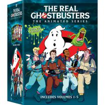 The Real Ghostbusters : La série animée, Volumes 1 à 5