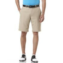 Ben Hogan Men's Golf Performance Solid Flat Front Shorts Chinchilla 38