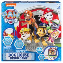 Cardinal Games Paw Patrol Dog House Bingo Game