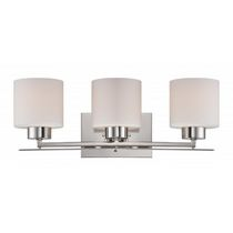 Focus 3-Light Polished Nickel Bath Vanity
