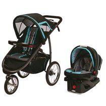 Graco FastAction Fold Jogger Click Connect TS Black/Blue