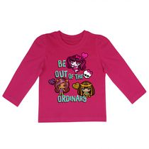 Monster High Girls' Long Sleeves Crew Neck T-Shirt 6